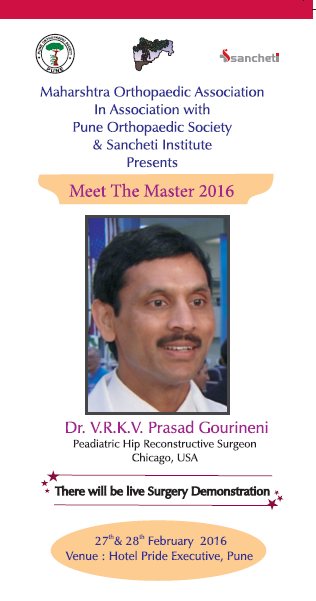 Meet The Master - Dr Prasad Gourineni on Hip Preservation Surgery