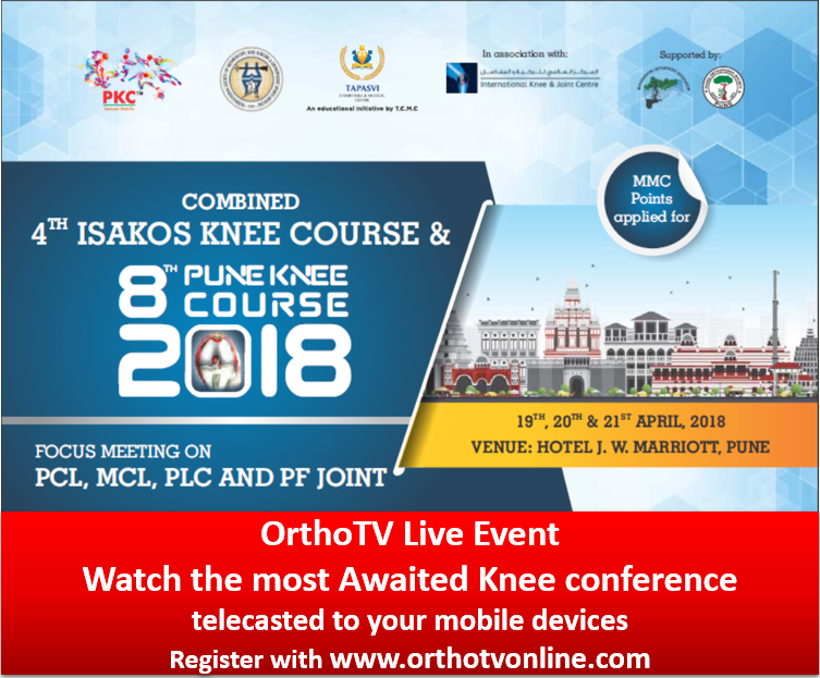 - Capture 1 - Pune Knee Course / ISAKOS Knee Course Live Streaming – IORG