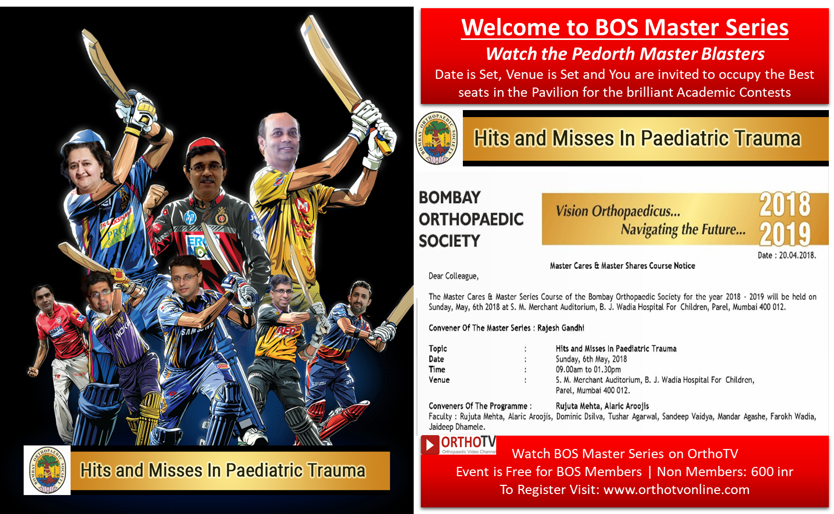 - Picture2 - BOS Master Series : Hits and Misses in Paediatric Trauma 6th May 2018