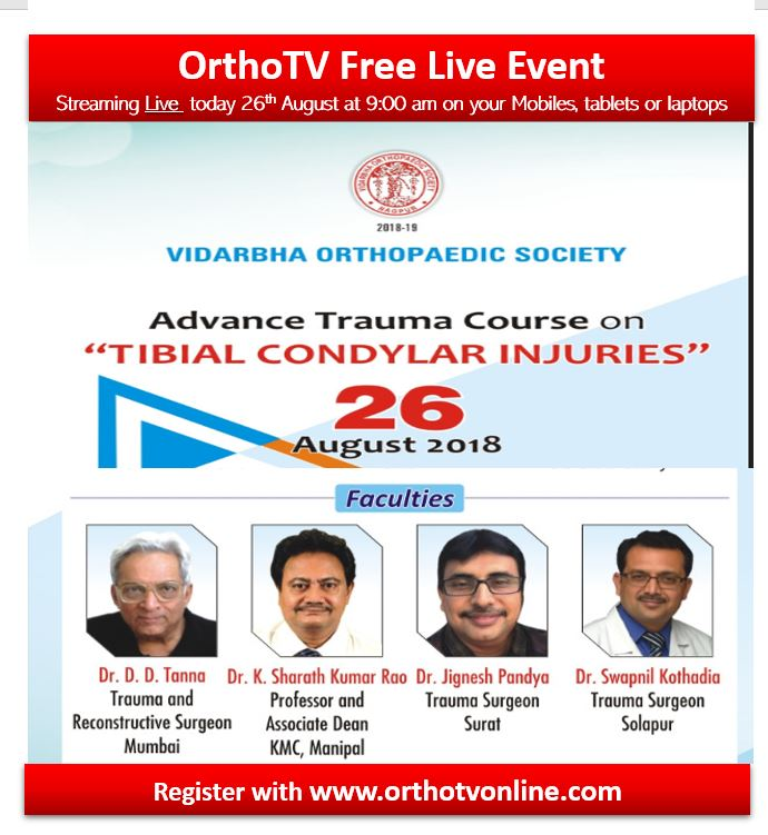 - Capture 1 - VOS Advance Trauma Course on Proximal Tibia Condylar Injuries