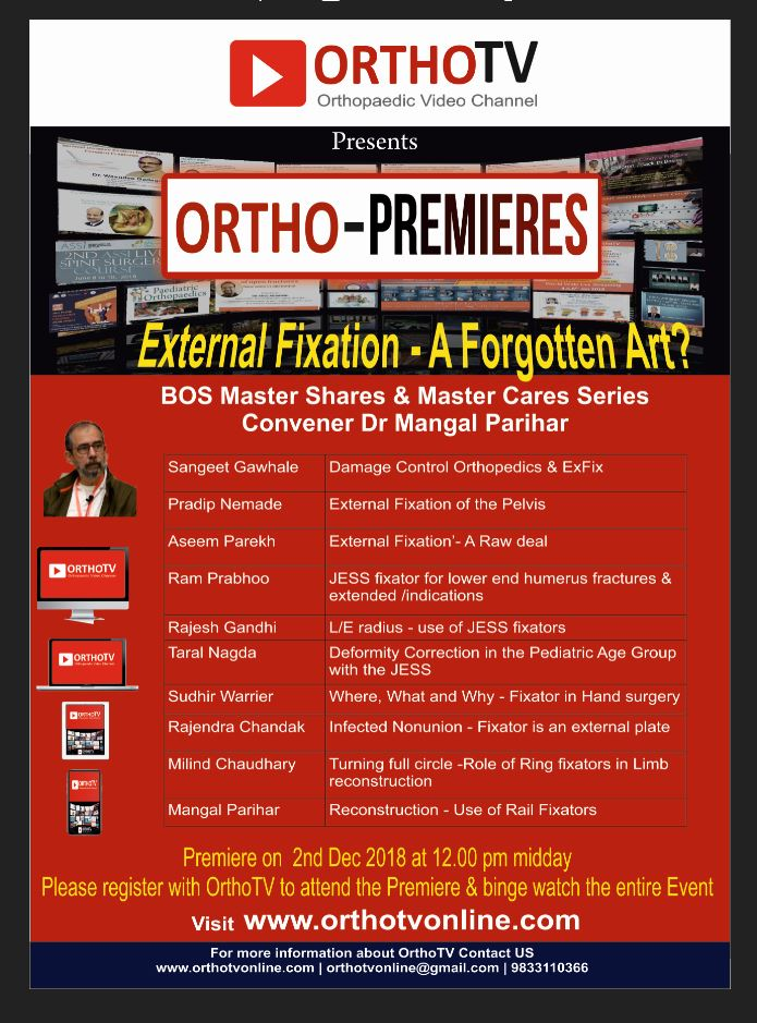 - Capture 3 - OrthoTV Premiers : External Fixation – A Forgotten Art?