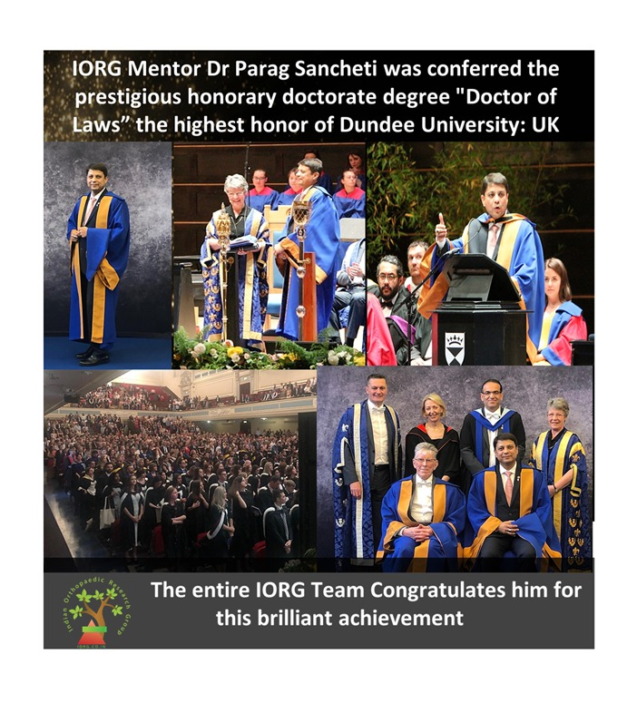 - WhatsApp Image 2019 07 07 at 9 - Dr Parag Sancheti being conferred with Honorary Doctorate degree, the highest honorary degree of University of Dundee, Scotland, United Kingdom.