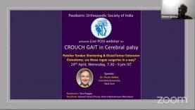 OrthoTv POSI Webinar Series – Crouch Gait in Cerebral Palsy – Paulo Selber