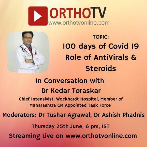 - In Conversation with Dr Kedar Toraskar 500x500 - OrthoTV Schedule