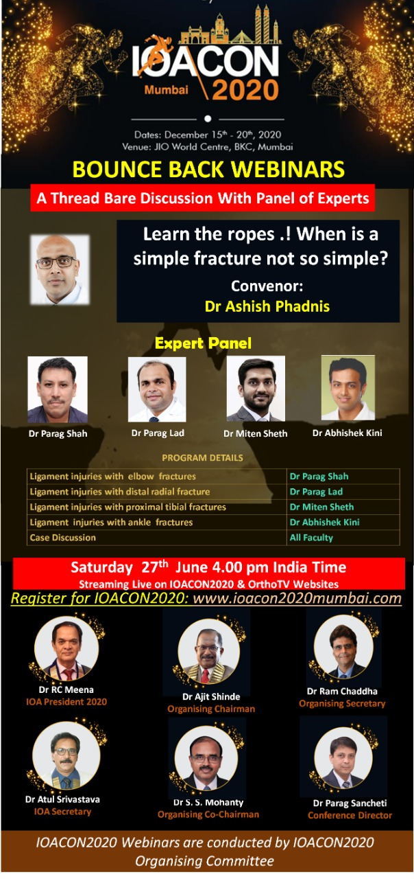 - WhatsApp Image 2020 06 26 at 10 - IOACON 2020 Bounce Back: Learn The Ropes .! When Is A Simple Fracture Not So Simple?