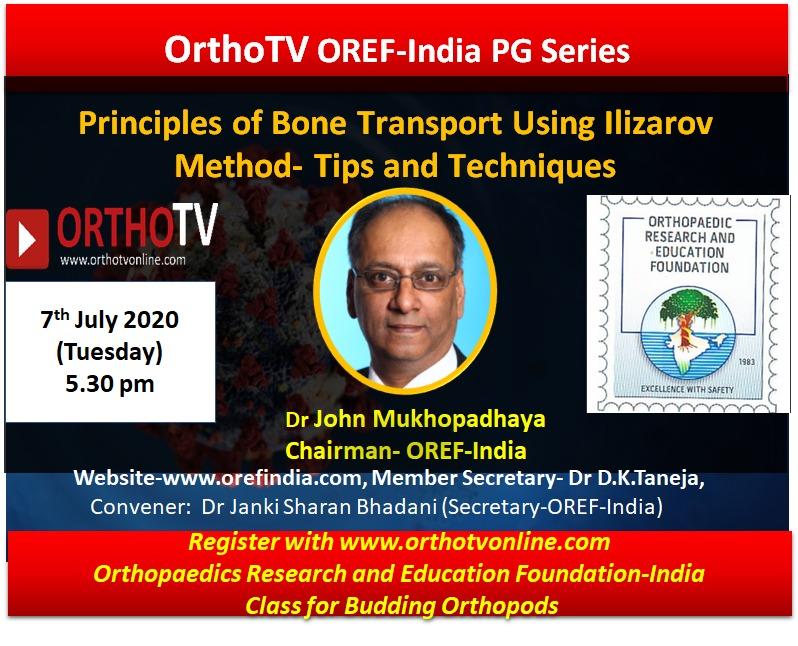 - WhatsApp Image 2020 07 06 at 7 - Principles of Bone Transport Using Ilizarov Method- Tips and Techniques by Dr John Mukhopadhaya