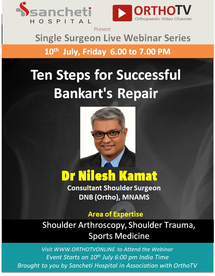 - WhatsApp Image 2020 07 10 at 10 - Ten Steps for Successful Bankart's Repair by Dr Nilesh Kamat