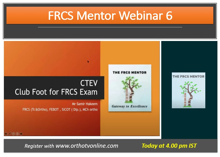 - WhatsApp Image 2020 07 22 at 11 - FRCS Mentor Program: CTEV for FRCS