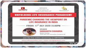 Financial Friday – Unfolding Life Insurance Paradigm – Siddharth Chhabria