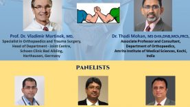 HOT DEBATE on   Unicompartmental Knee Osteoarthritis – HTO vs UKA by Prof. Dr. Vladimir Martinek & Dr. Thadi Mohan