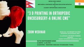 3D Printing in Orthopaedic Oncology