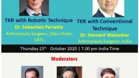 APAS OrthoTV Webinar Series: Robotic TKR vs Conventional: Do we have a Clear Winner?