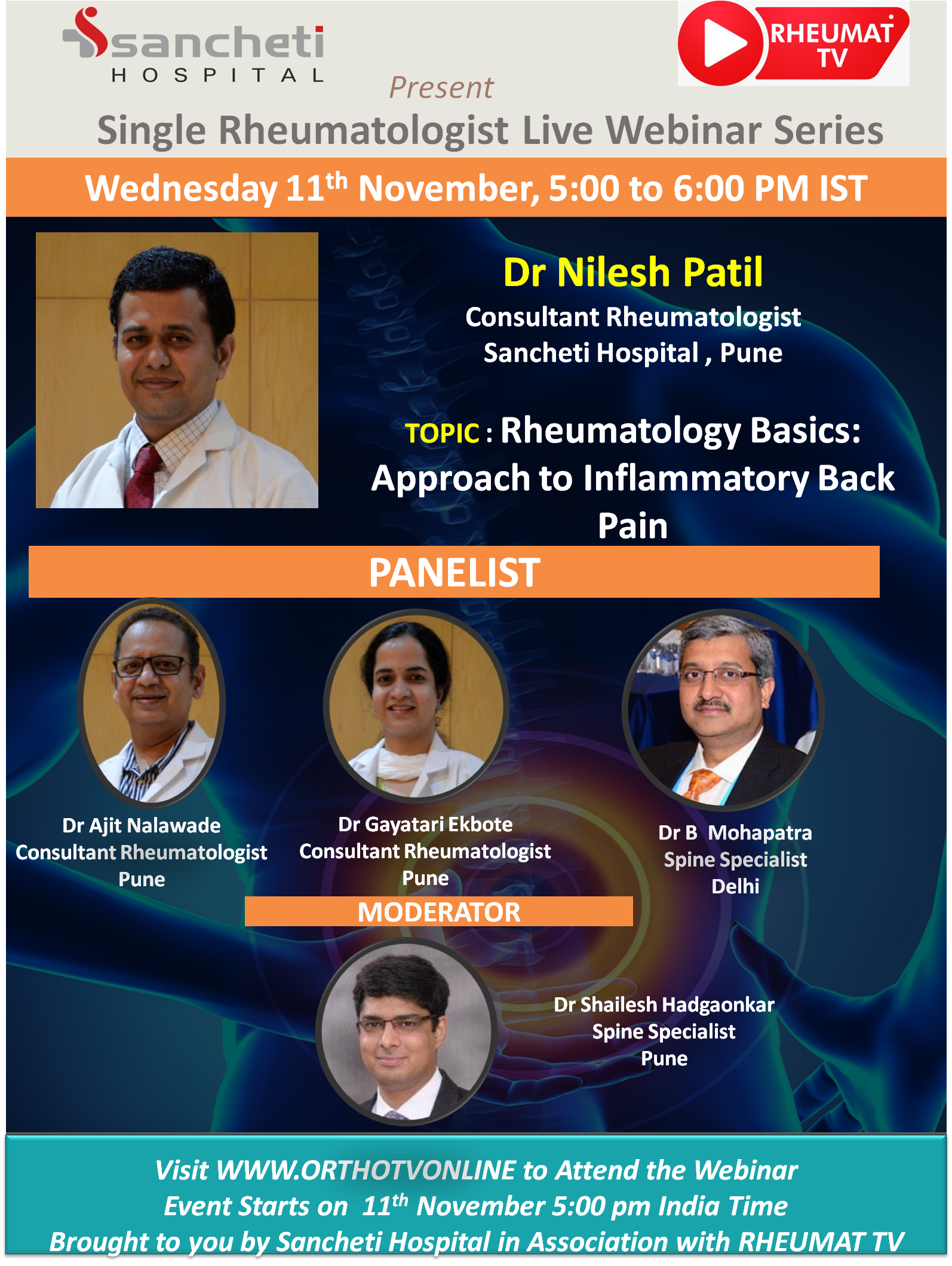 - Rheumat 2 - RHEUMAT TV : Rheumatology Basics: Approach to Inflammatory Back Pain by Dr NILESH PATIL