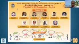 IOA PG E-Platform – Module 12 Paediatric Orthopaedics – Part 2