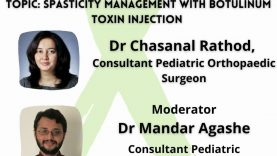 OrthoTV Original – Spasticity management with Botulinum Toxin injection in Cerebral Palsy – Dr Chasanal Rathod