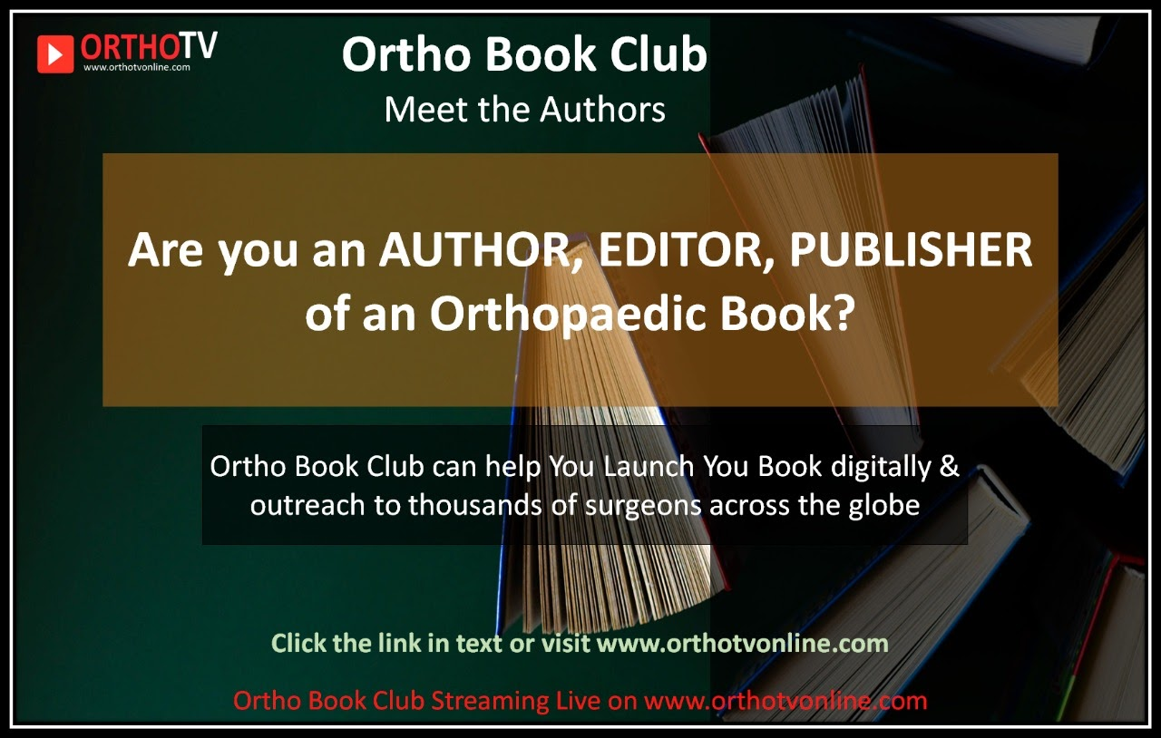 Ortho Book Club : Launch , Lectures & much more