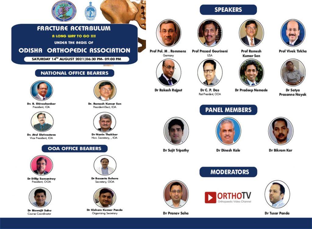 Odisha Orthopaedic Association : Fracture Acetabulum : a Long Way to Go