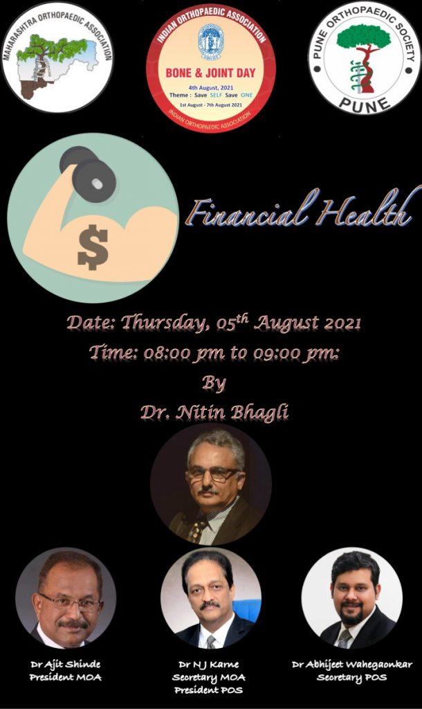 POS MOA BJD: Financial Health for Doctors Dr Nitin Bhagali