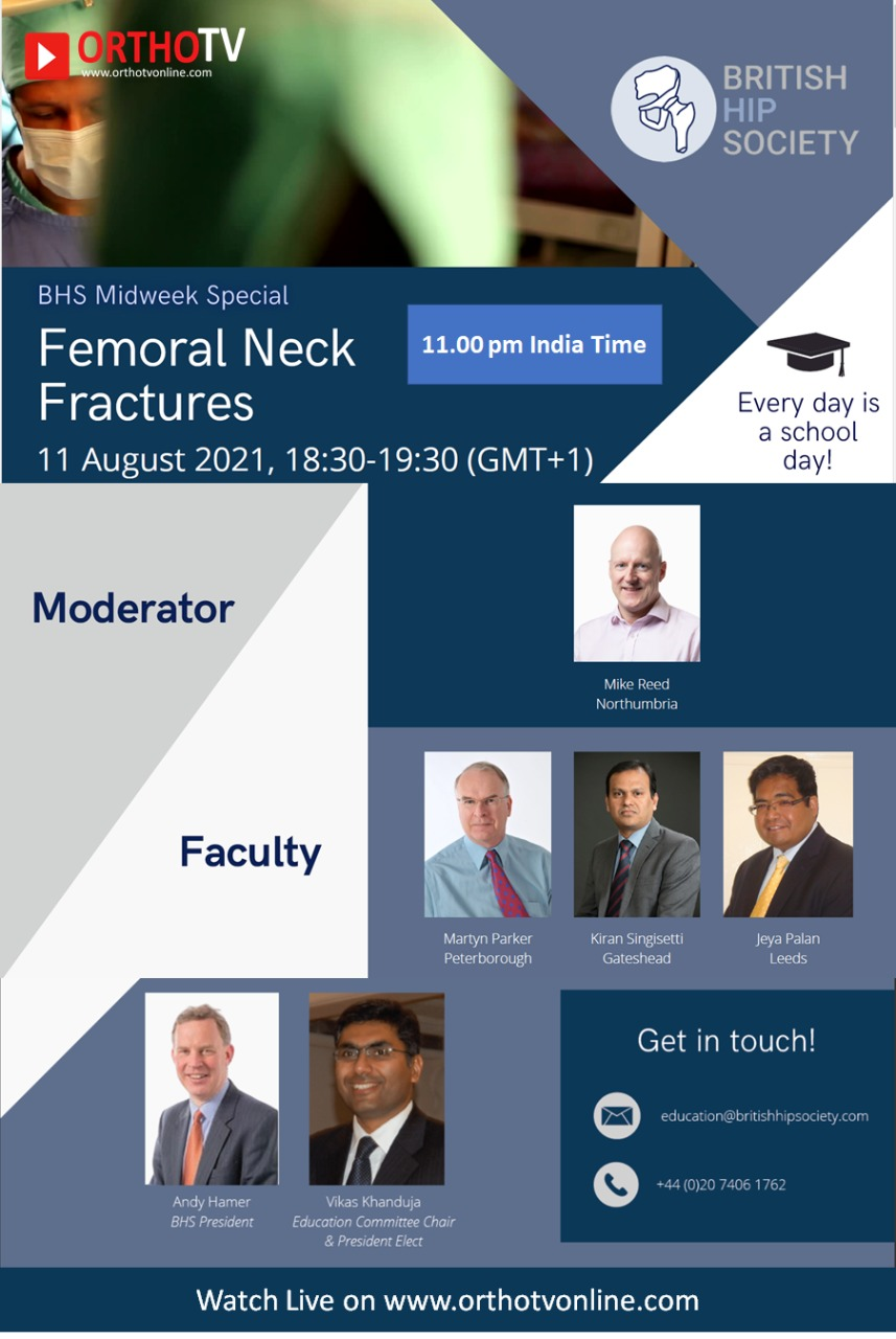 BHS Midweek Special : Femoral Neck Fractures