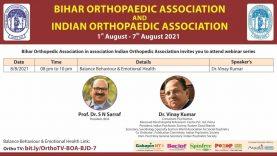 BOA BJD: Balance Behaviour & Emotional Health Dr Vinay Kumar
