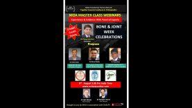 MOA Master Class : Bone and Joint Week Celebration