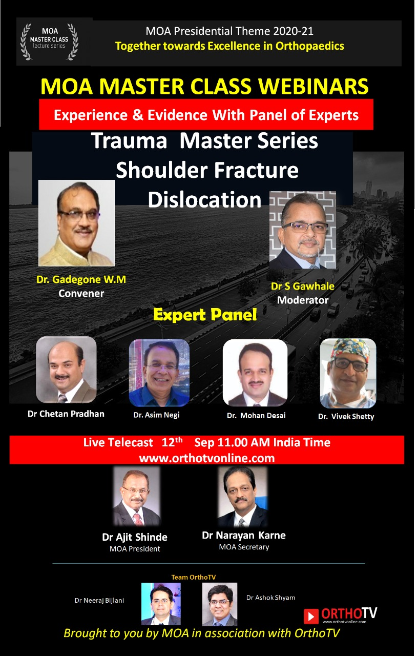 MOA Master Class: Fracture Dislocation of the Shoulder