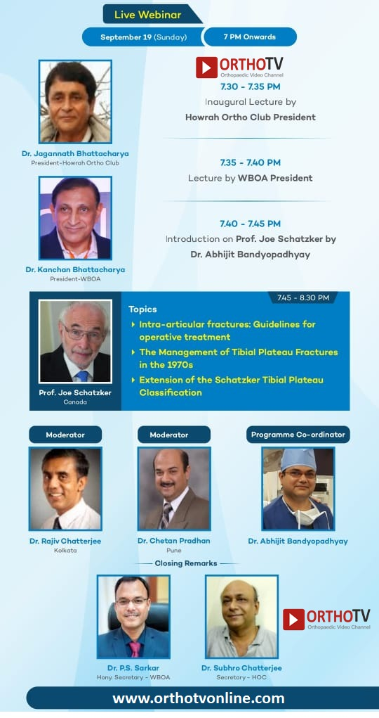 Symposium on PROXIMAL TIBIAL FRACTURE
