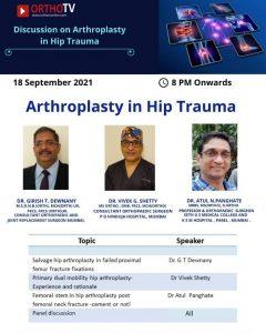 Arthroplasty in Hip Trauma