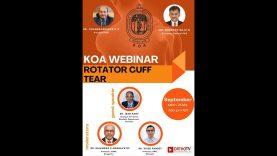KOA Webinar – Rotator Cuff Tear