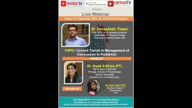 PhysioTV : Current Trends in Management of Concussion in Paediatrics by Dr Devashish Tiwari