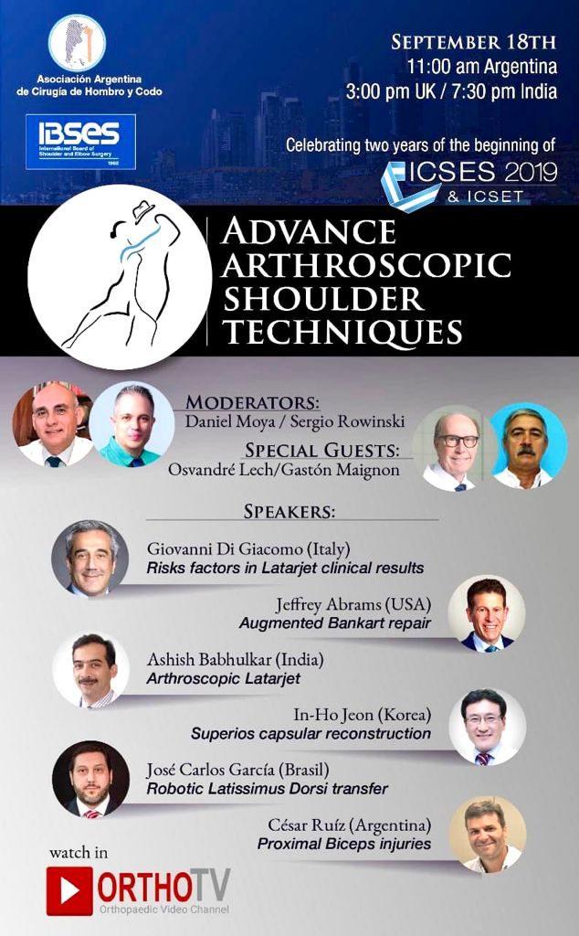 ibses shoulder arthroscopu